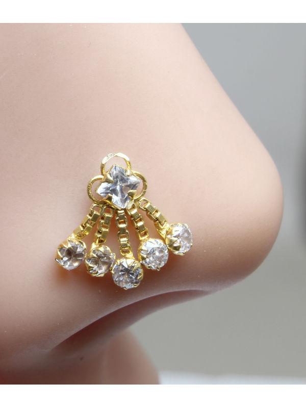 gold nose pin manufacture